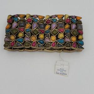 Lia Sophia Jewelry - NWT - Lia Sophia Kiam Family Mosiac Bracelet
